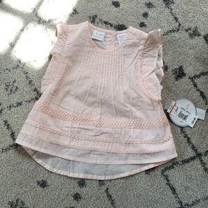 NWT light pink 18-24 month top